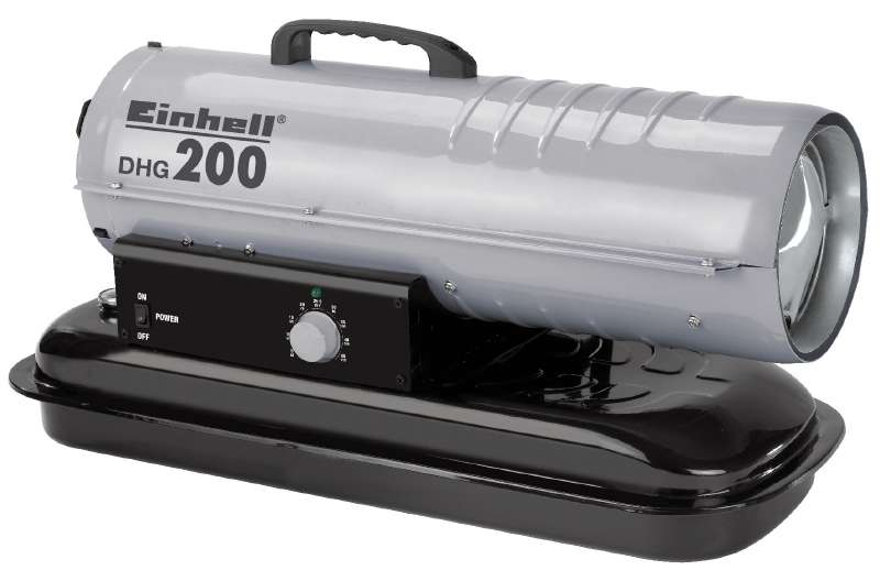 Turbína horkovzdušná dieslová DHG 200