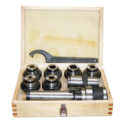 Závitořezný adaptér se závitníky a ložiscích s výměnnými hroty Holzmann GBS6TLG