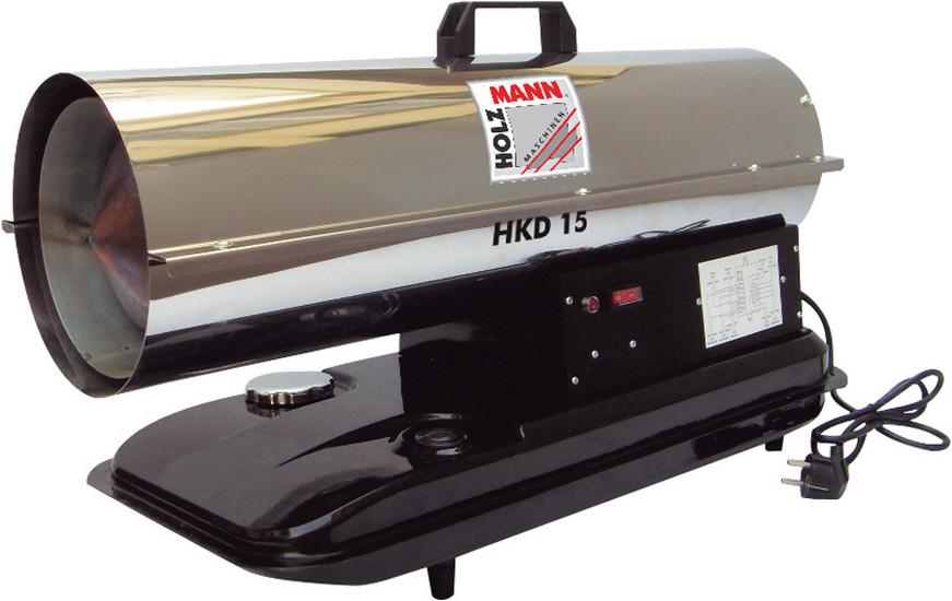 Naftový horkovzdušný ohřívač Holzmann HKD 15