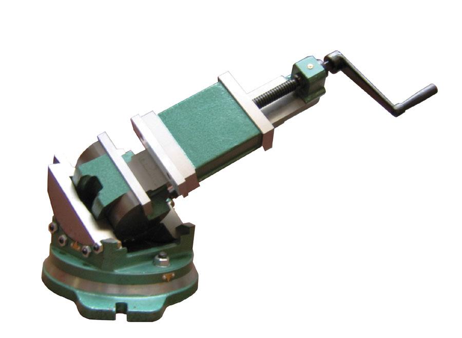 3-osý strojní svěrák Holzmann IP 125