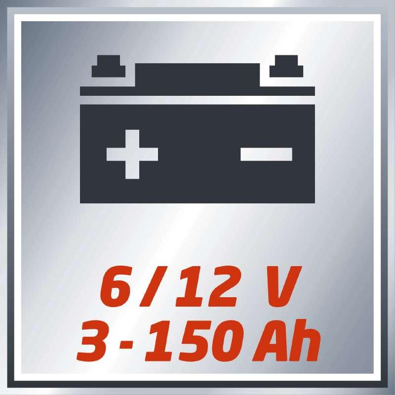 Nabíječka baterií CC-BC 6 M Einhell Classic-3