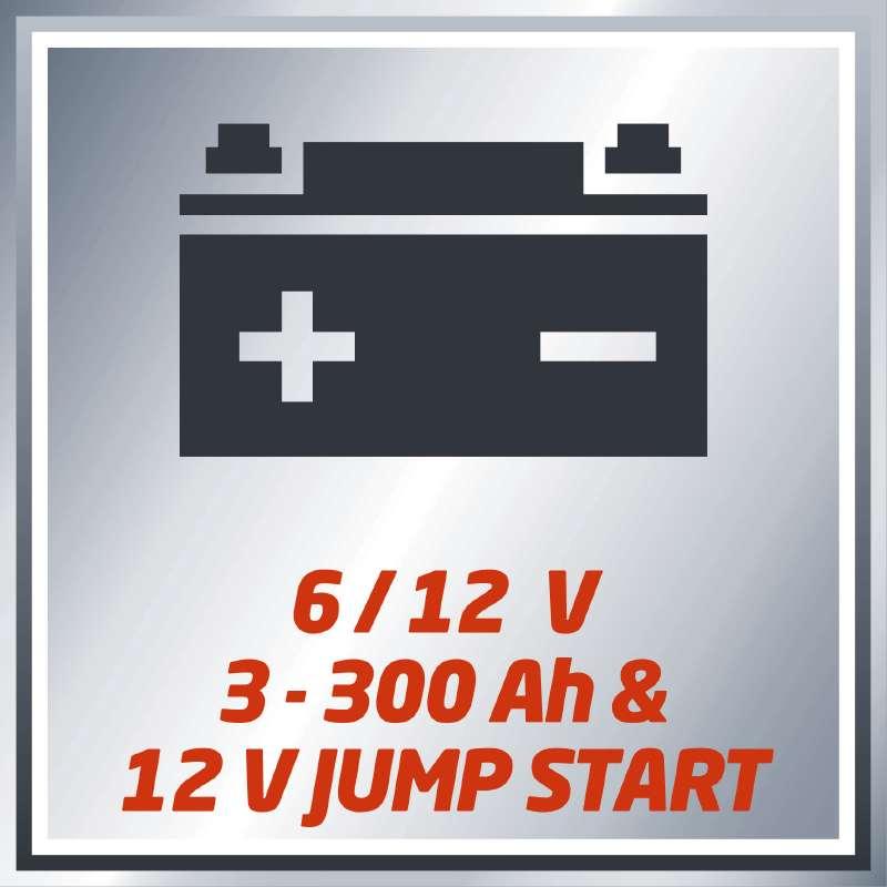 Nabíječka baterií CC-BC 15 M Einhell Classic-2