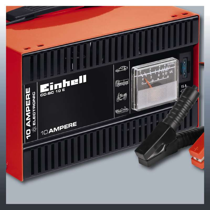 Nabíječka baterií CC-BC 10E Einhell Classic-5