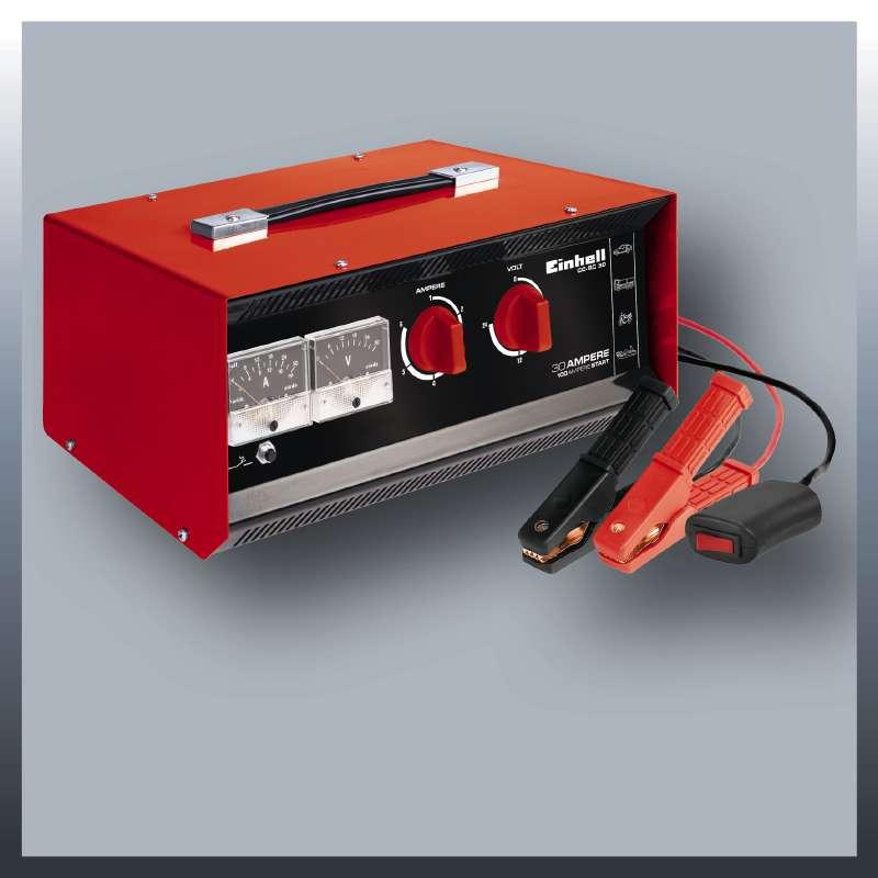 Nabíječka baterií CC-BC 30 Einhell Classic-5