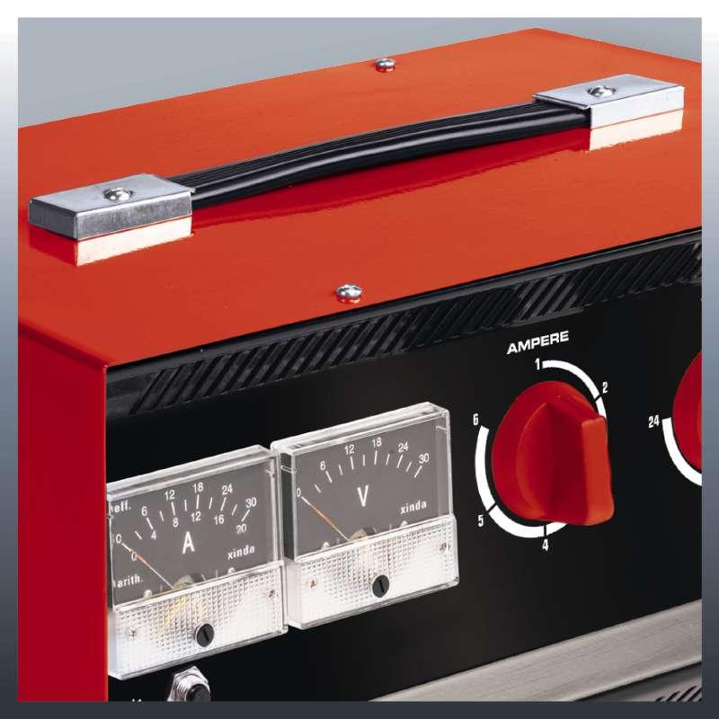 Nabíječka baterií CC-BC 30 Einhell Classic-7