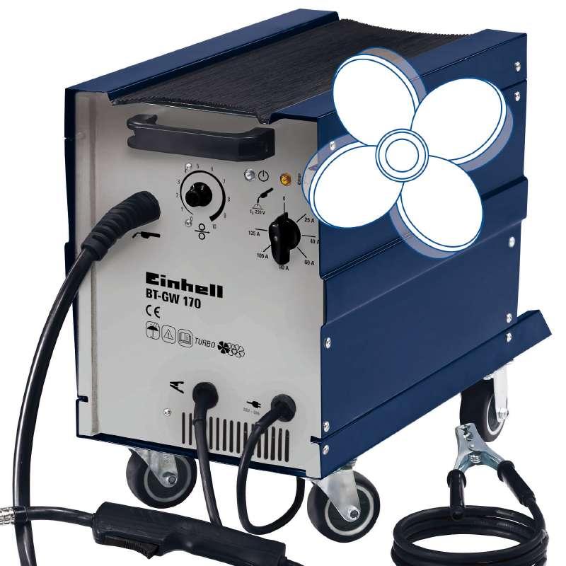 Svářečka s ochrannou atmosférou BT-GW 170 Einhell Blue-3