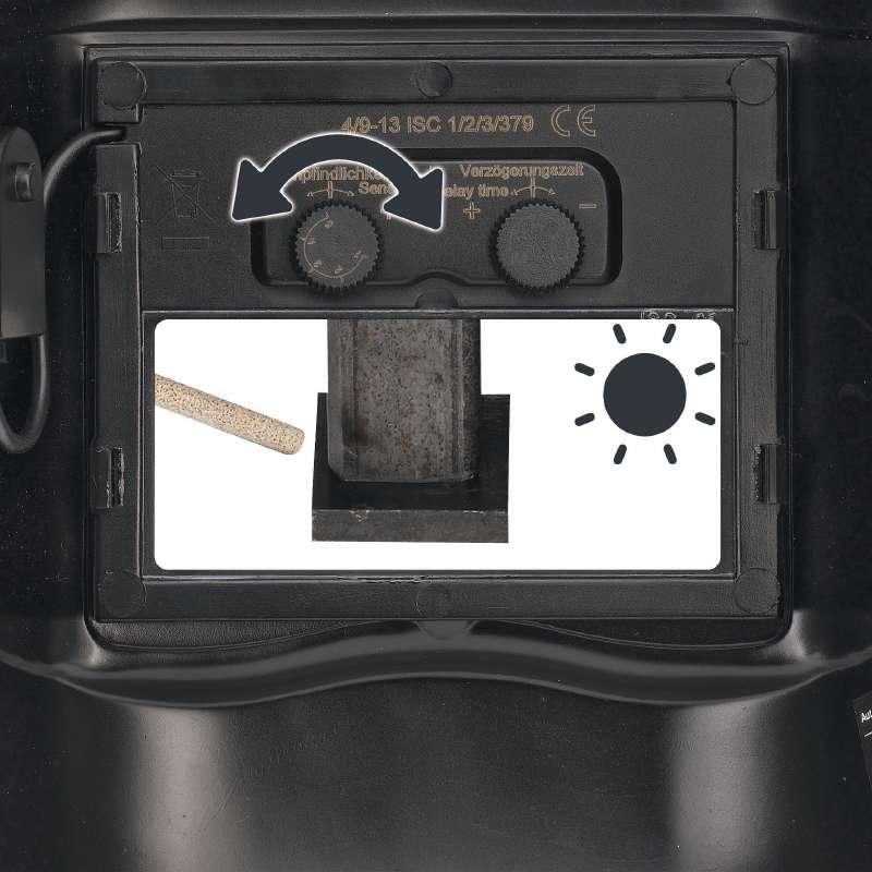 Kukla svářečská automatik 9-13 Einhell-5