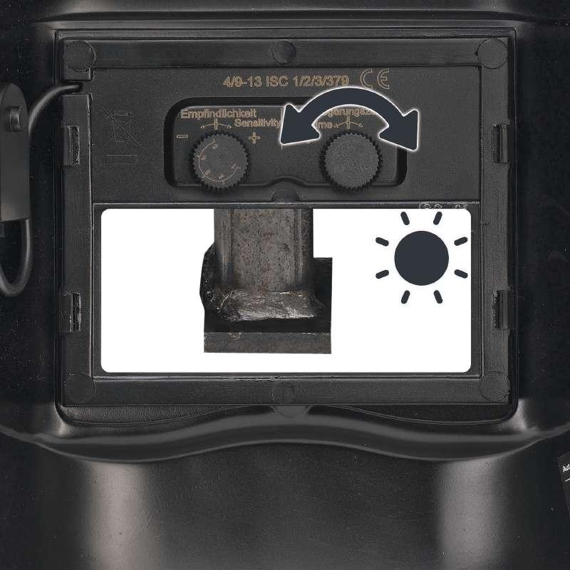 Kukla svářečská automatik 9-13 Einhell-6