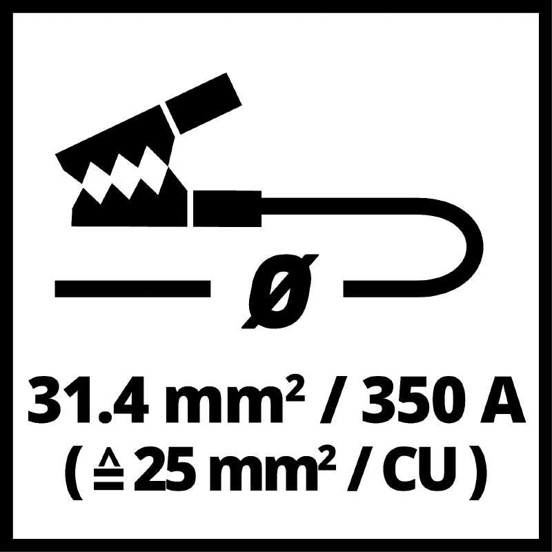 Startovací kabely BT-BO 25/1 A LED SP-5