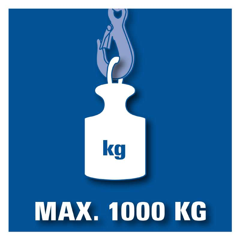Kladkostroj BT-CH 1000 Einhell Blue-4