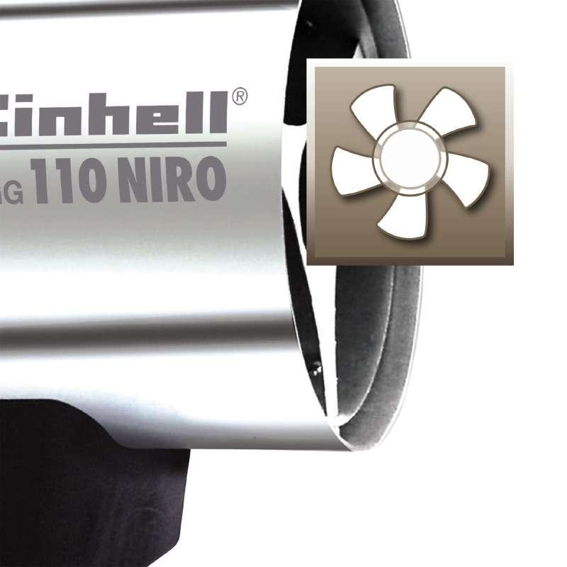 Topení plynové Einhell HGG 110 Niro-3