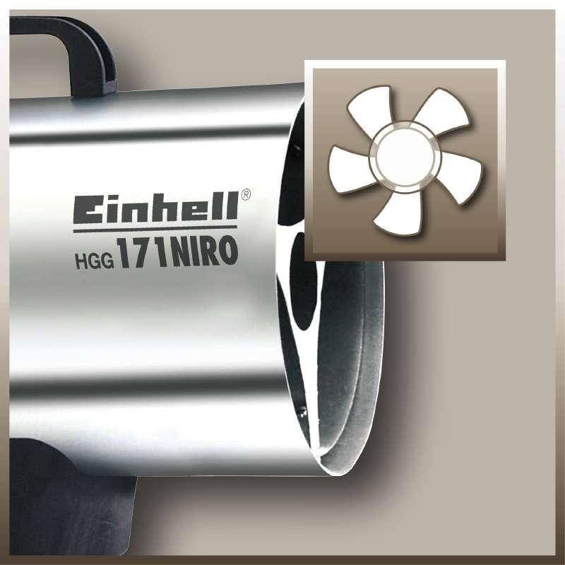 Topení plynové Einhell HGG 171 Niro-2