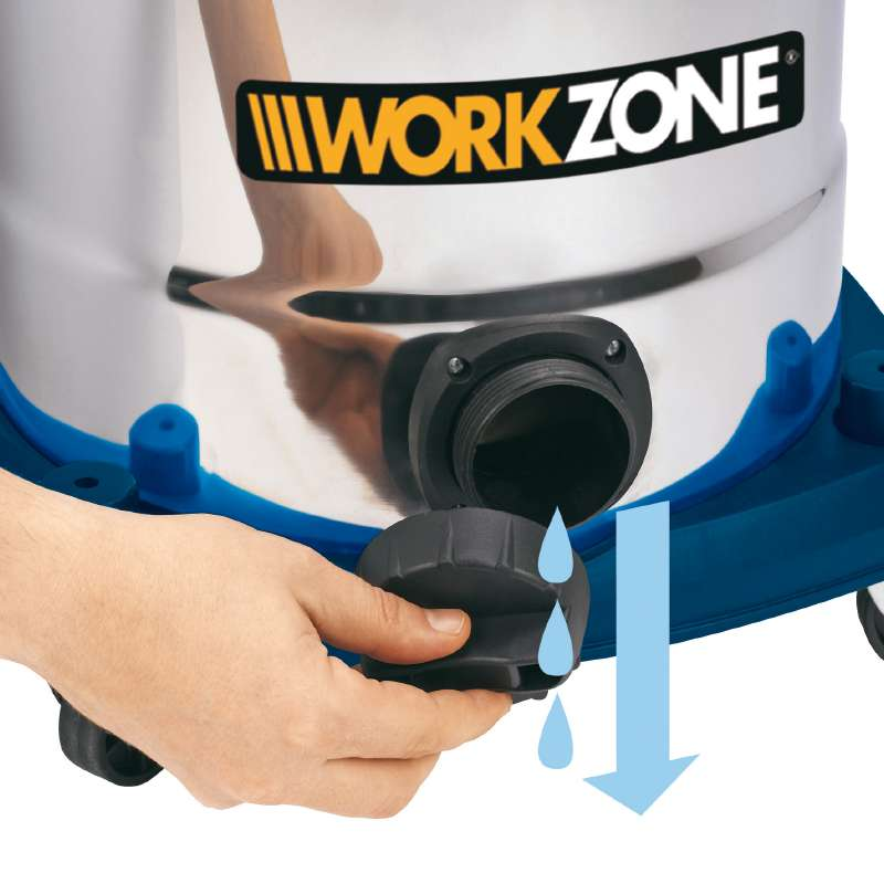 Vysavač pro mokré i suché sání WZ-NTS 30 A Workzone-2