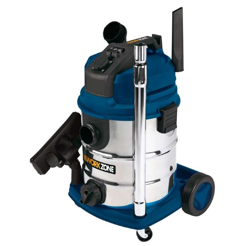 Vysavač pro mokré i suché sání WZ-NTS 30 A Workzone-5
