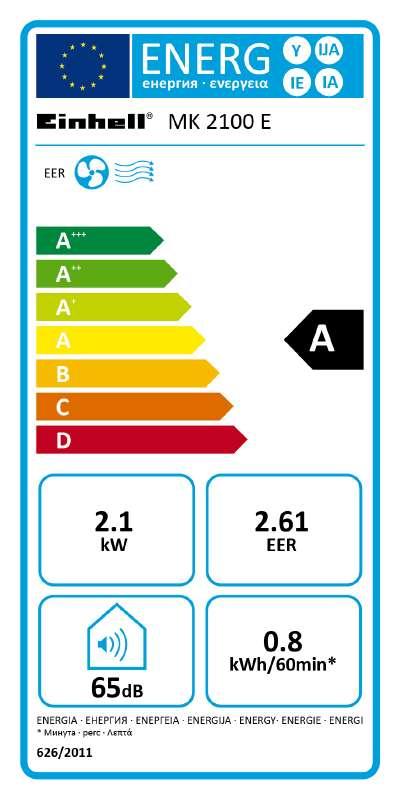 Mobilní klimatizace Einhell MK 2100 E-3