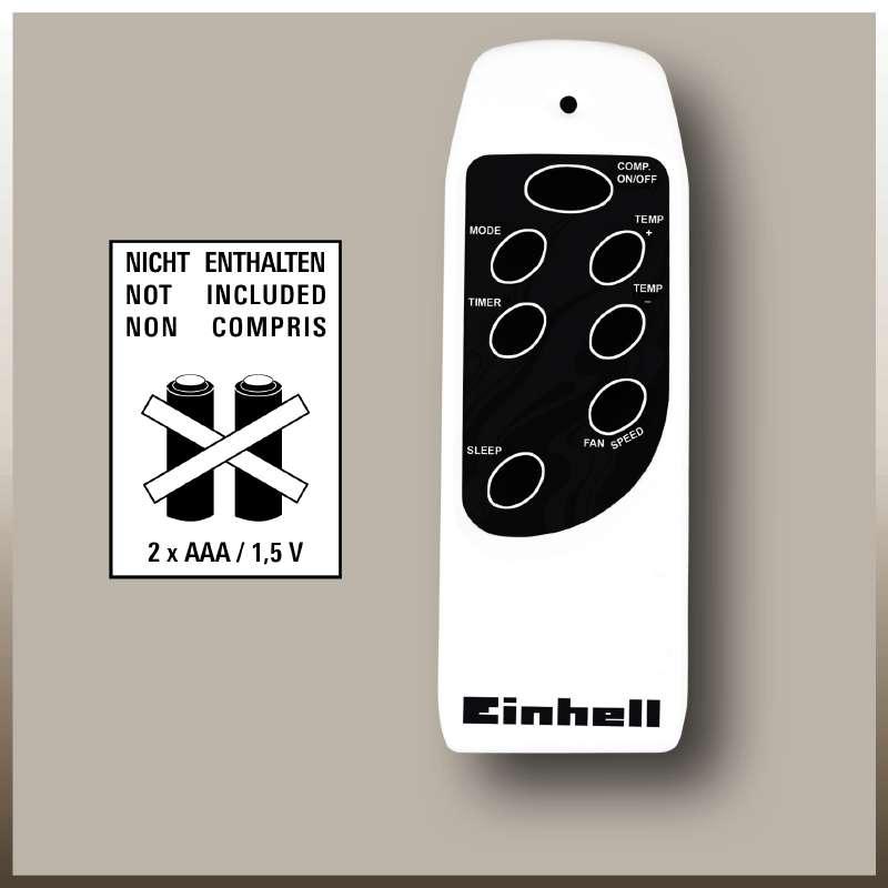Mobilní klimatizace Einhell MK 2600 E-8