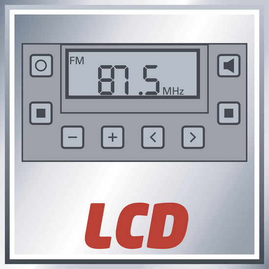 Rádio aku TE-CR 18 Li (bez baterie) Einhell Expert Plus-3