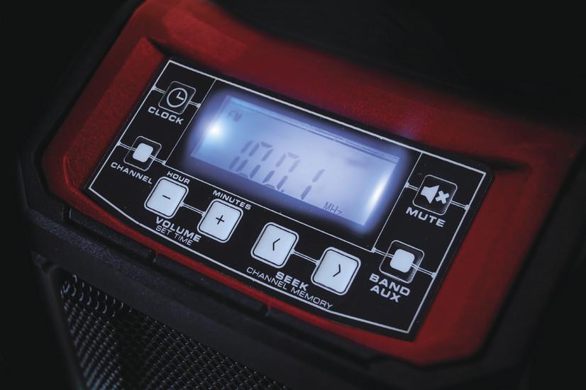Rádio aku TE-CR 18 Li (bez baterie) Einhell Expert Plus-7