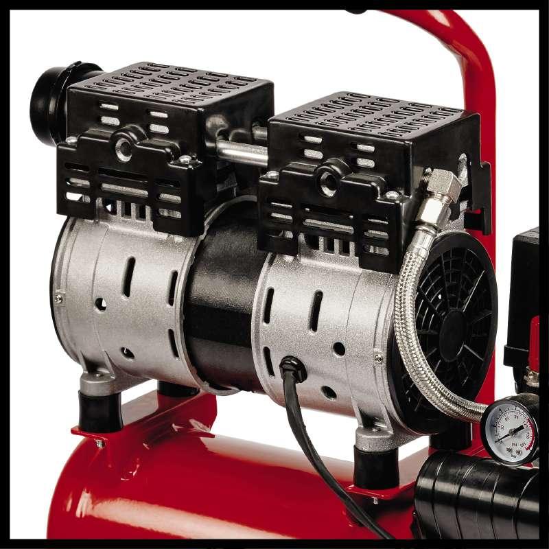 Tichý kompresor TE-AC 6 Silent Einhell-5