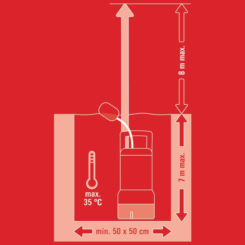 Čerpadlo na čistou vodu GE-SP 4390 LL ECO Einhell-6