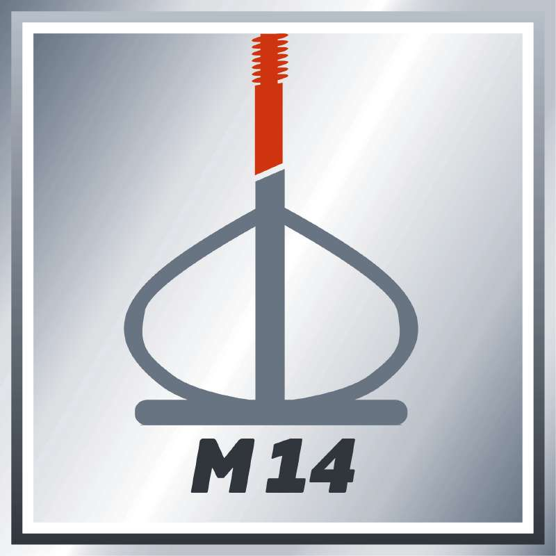 Míchač lepidel a malty TE-MX 1600-2 CE Einhell Expert-1