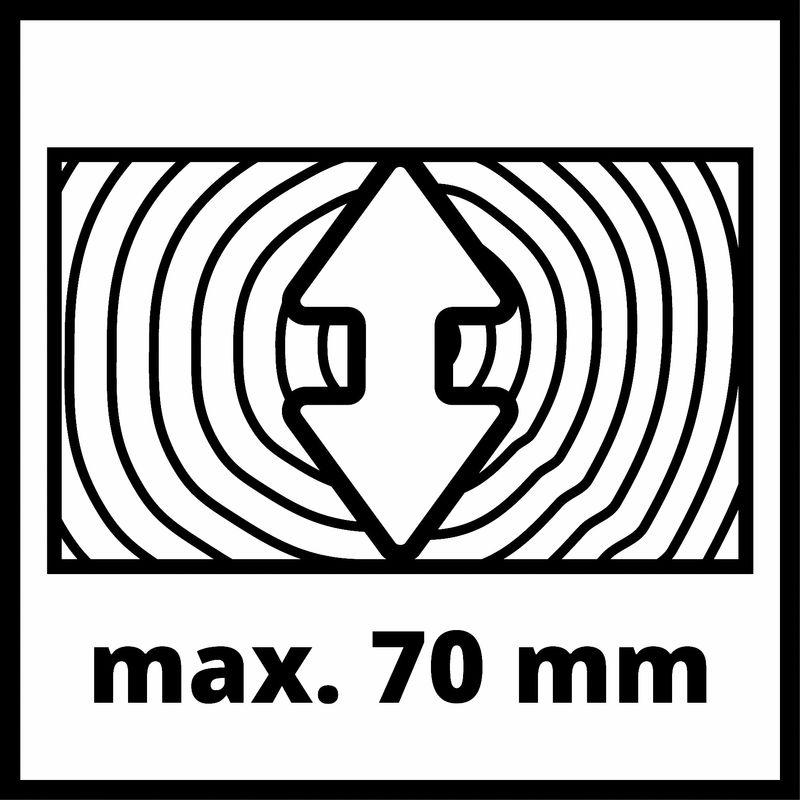 Pokosová pila TC-SM 2531/2 U Einhell-4