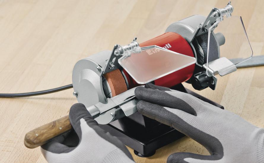Bruska dvoukotoučová s přídavnou přímou bruskou TH-XG 75 Kit Einhell Classic-2
