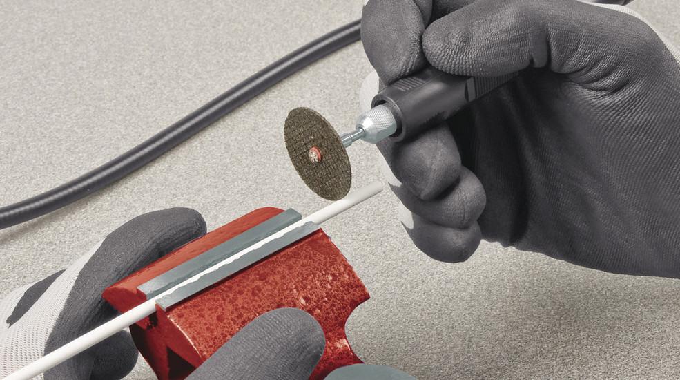 Bruska dvoukotoučová s přídavnou přímou bruskou TH-XG 75 Kit Einhell Classic-3