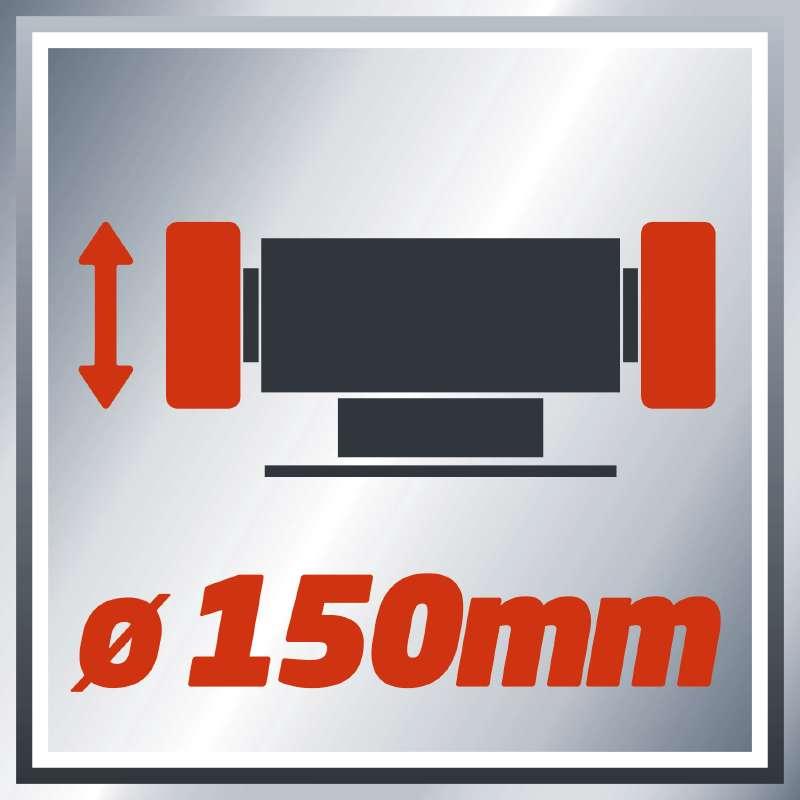 Bruska dvoukotoučová TH-BG 150 Einhell Home-1