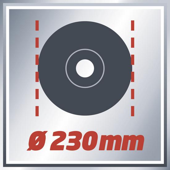 Bruska úhlová TE-AG 230/2000 Einhell Expert-2