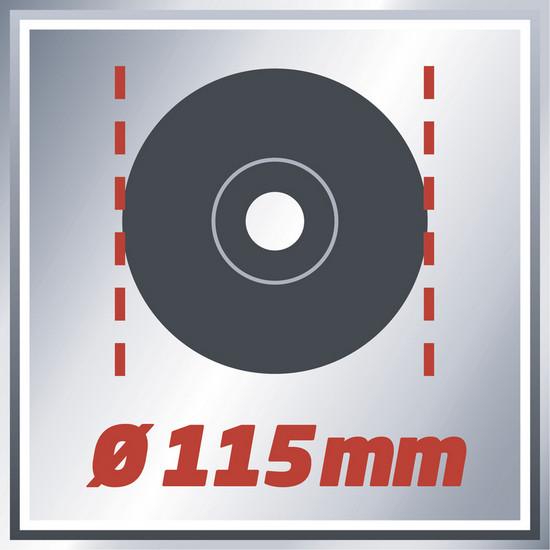 Bruska úhlová TE-AG 115/600 Einhell Expert-3