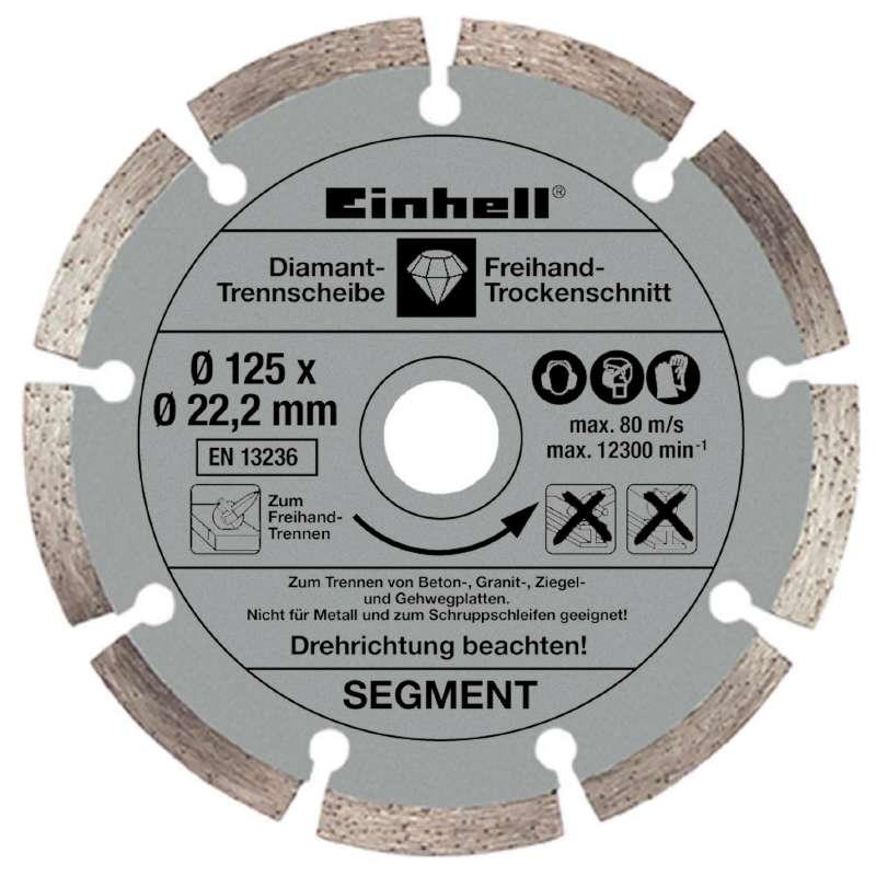 Bruska úhlová TE-AG 125/750 Kit Einhell Expert-2
