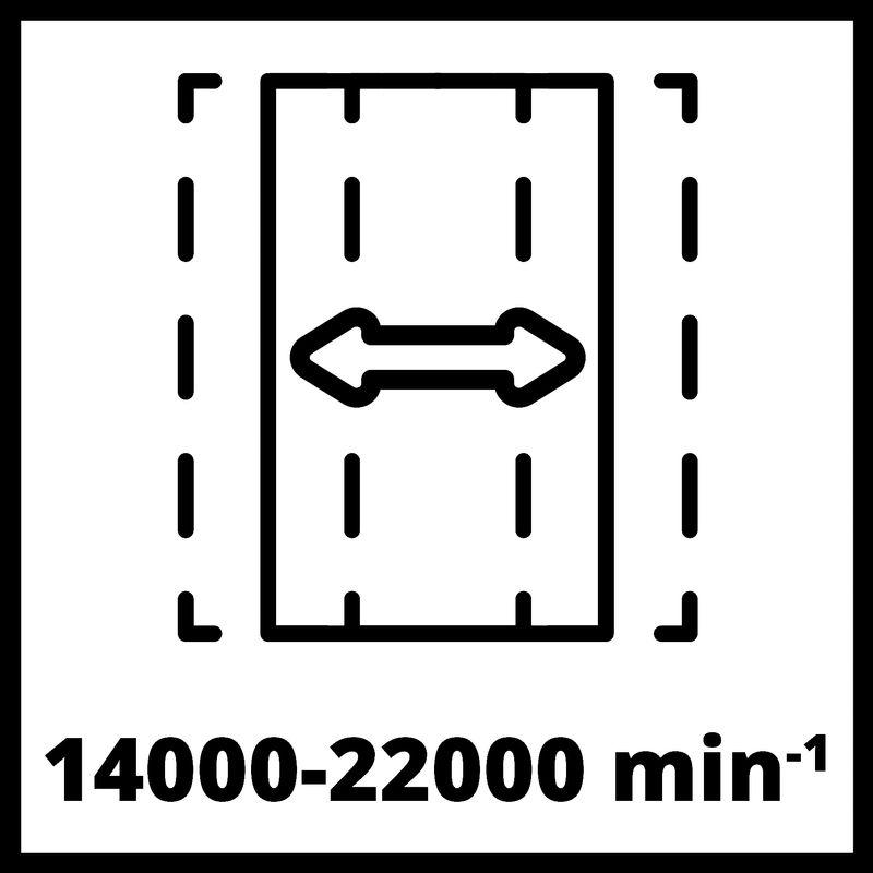 Vibrační bruska Aku TE-OS 18/230 Li Solo Einhell-3