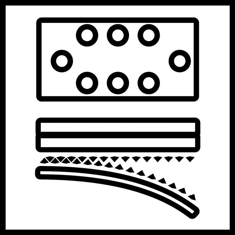 Vibrační bruska Aku TE-OS 18/230 Li Solo Einhell-6