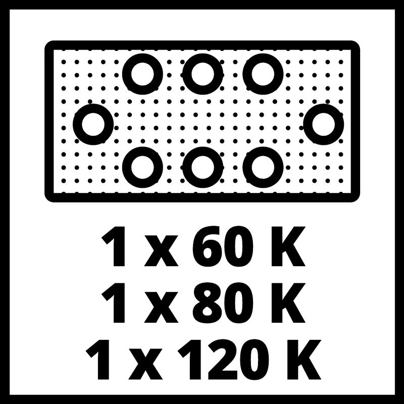 Vibrační bruska Aku TE-OS 18/230 Li Solo Einhell-8