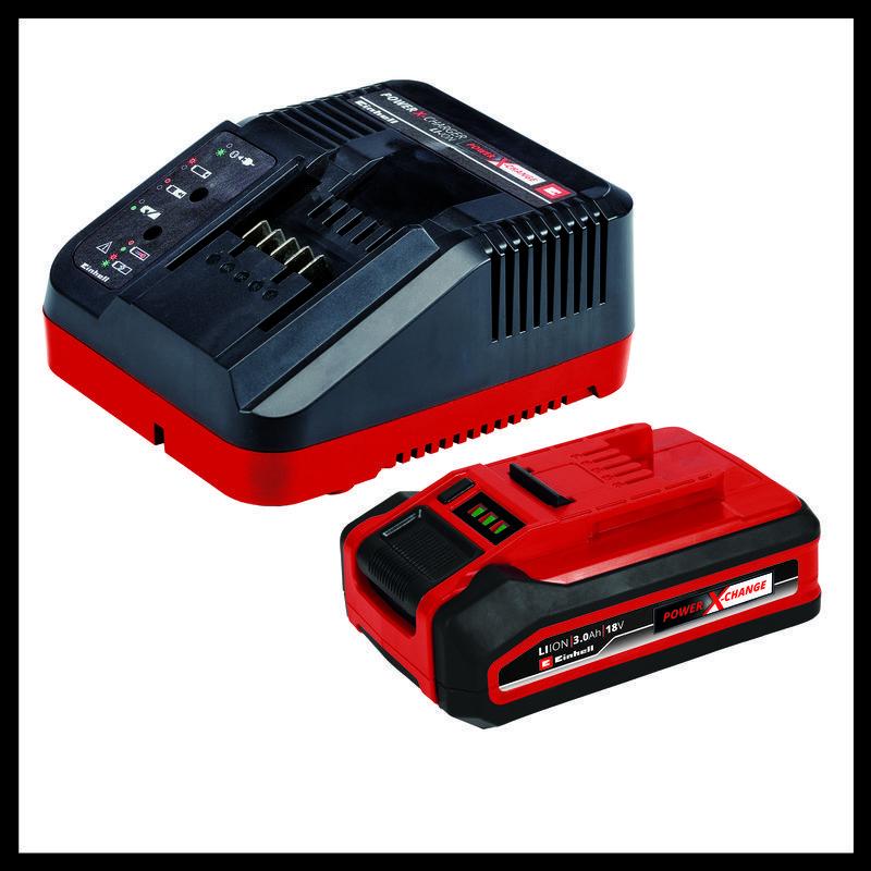Pila řetězová aku GE-LC 18 Li Kit ( 1x3,0 Ah) Einhell Expert Plus (včetně baterie a nabíječky)-1