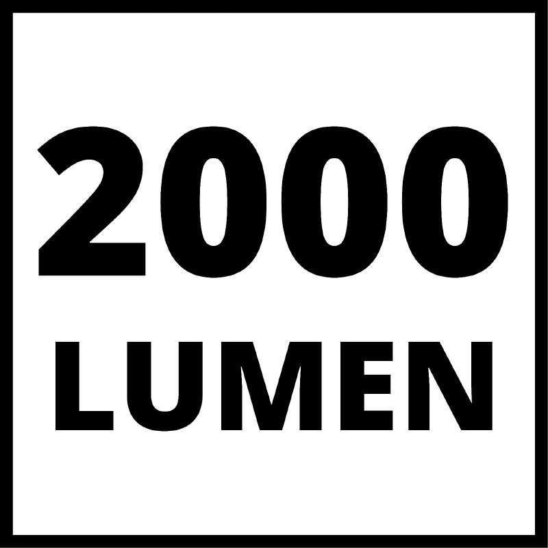 Akumulátorová svítilna TE-CL 18/2000 LiAC Solo  Einhell Power-X-Change-8