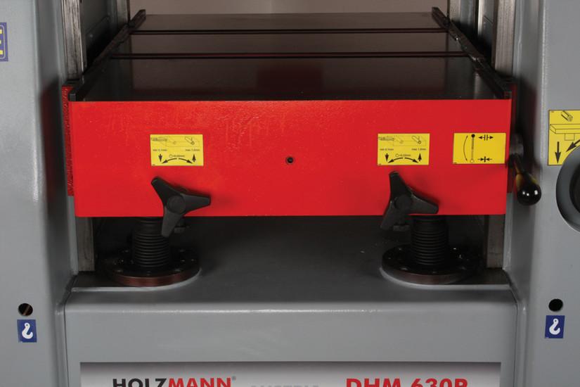 Tloušťkovací frézka Holzmann DHM 630P-3