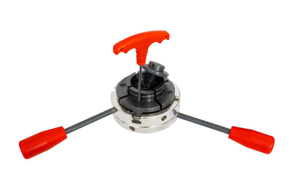 4-čelisťové samostředící sklíčidlo Holzmann DREVD1100 -4