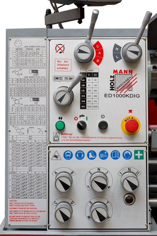 Soustruh na kov Holzmann ED1000KDIG-1