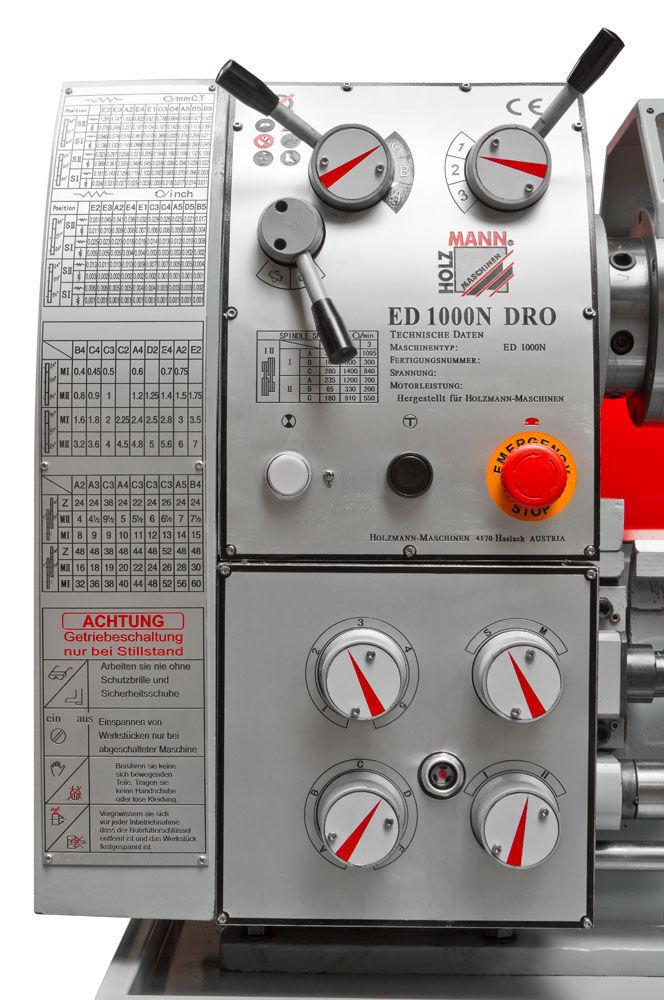 Soustruh na kov Holzmann ED1000NDIG-2