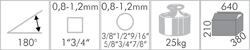 Ruční ohýbačka trubek Holzmann MRB22  -1