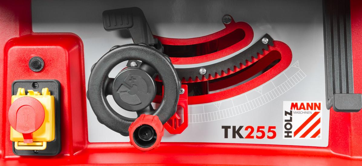 Set kotoučová pila + Mobilní stolní pila Holzmann TK255 + Stojan Holzmann TK255MS-4