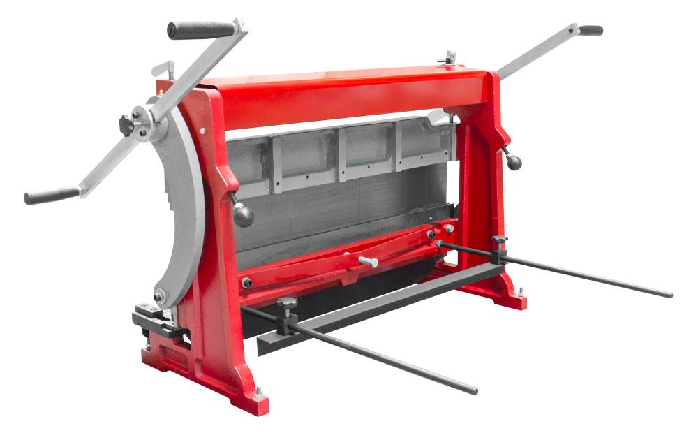 Univerzální stroj na zparcování plechu Holzmann UBM760-2