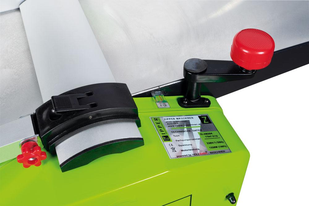 Srovnávací a tloušťkovací frézka Zipper ZI-HB204 -3