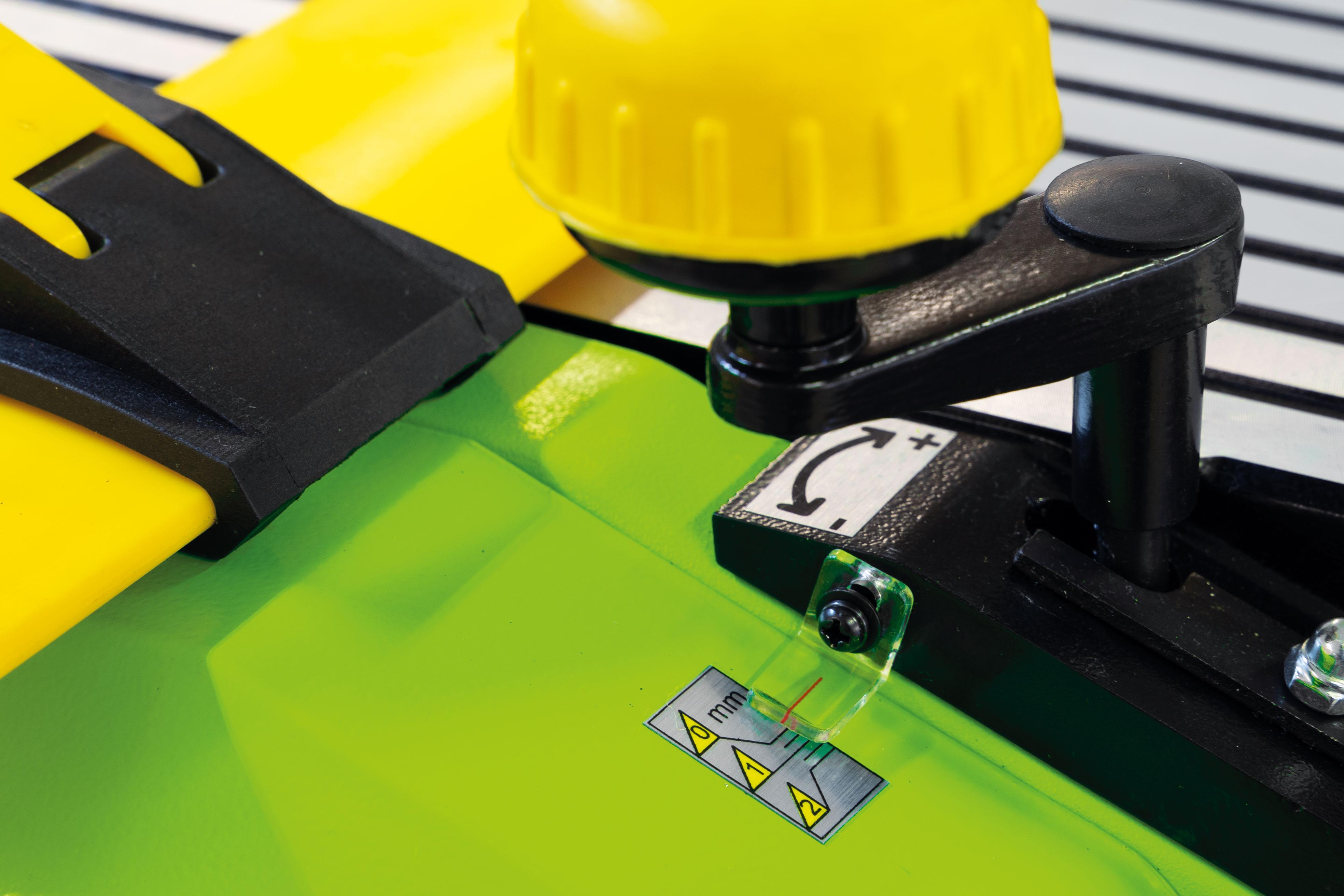 Srovnávací a tloušťkovací frézka Zipper ZI-HB305 -4