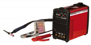 Svářecí invertor WIG/TIG Holzmann TISA 200